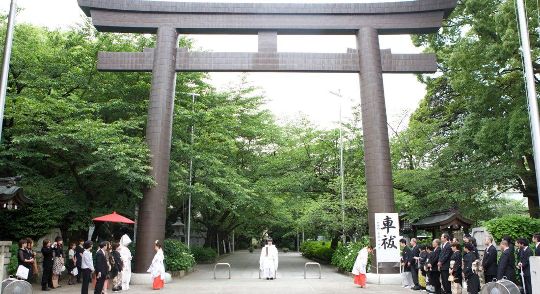 愛知護国神社(名古屋市 西区)1